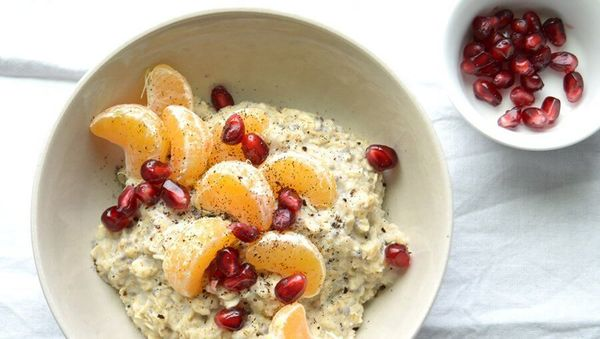Large hafer porridge