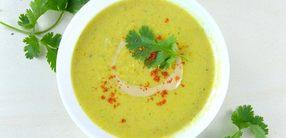 Sellerie-Kurkuma-Suppe