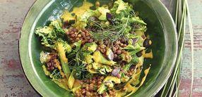 Wirsing-Gemüse-Curry mit Linsen