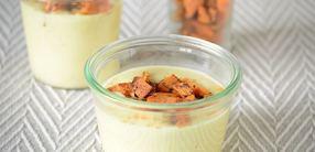 Pastinaken-Kokos-Suppe mit Gemüseeinlage