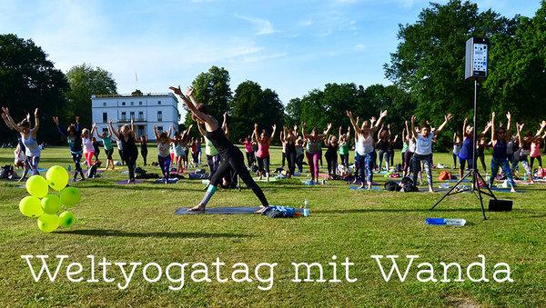 Die Welt braucht mehr Yoga! Weltyogatag mit Wanda