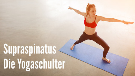 Medium header supraspinatus die yogaschulter