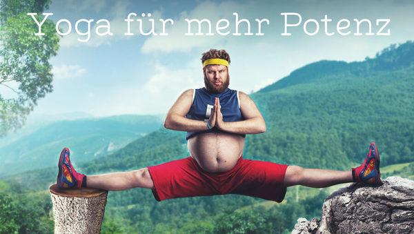 Der erschöpfte Mann: Yoga für mehr Potenz