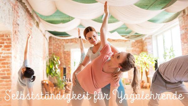 Yogalehrer: Der Weg in die Selbstständigkeit