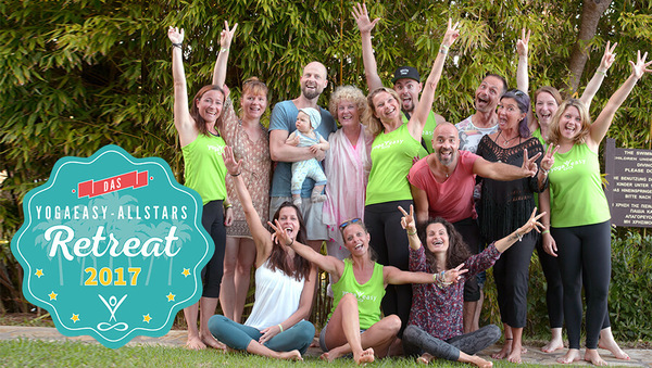 YogaEasy Allstars Retreat 2017: Yoga der Begegnung