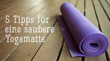 I370 208 yoga matte reinigen tipps