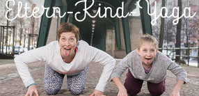 Eltern-Kind-Yoga: Asanas für dein Kind und dich