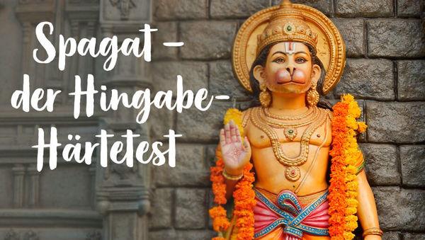 So kommst du (endlich) in Hanumanasana!