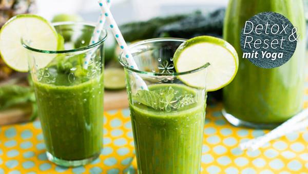 Large green smoothie