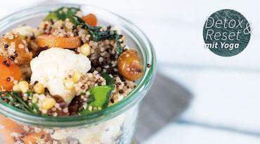 I370 208 salat gebackenem gemuse zedernussen