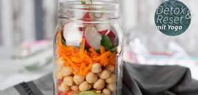 Bulgur-Salat mit Kichererbsen