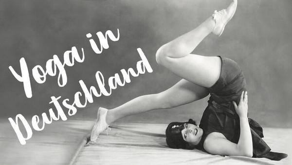 Yoga in Deutschland: So ging es los