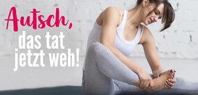 6 Tipps: Verletzungen beim Yoga vermeiden