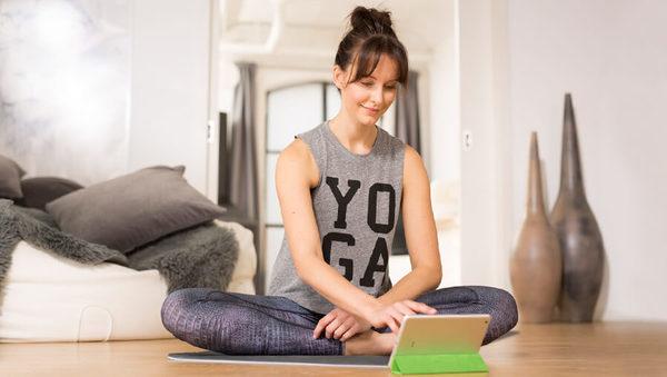 Large yoga level fitness