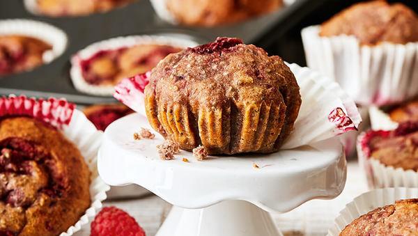 Himbeer-Honig-Muffins