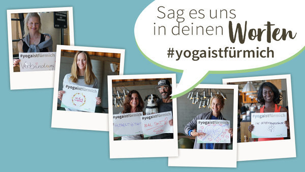 Weltyogatag: Wir spenden für deine Yoga-Botschaft