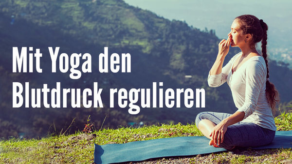 Large yoga meditation bluthochdruck