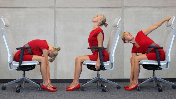 Mit Yoga den Bürostress lösen