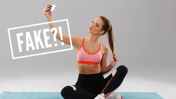 Fake Yoga? Ja, das gibt's.