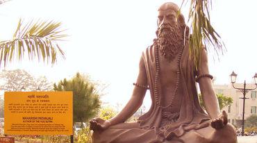 I370 208 patanjali statue