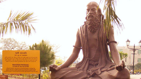 Large patanjali statue