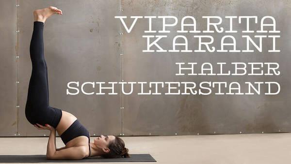 Asana des Monats: Viparita Karani
