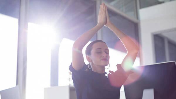 Job Stress Yoga Entspannung