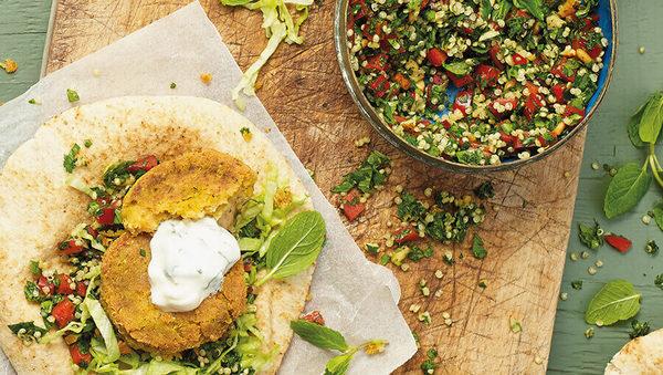 Libanesische Quinoa-Falafel Rezept Zuckerfrei