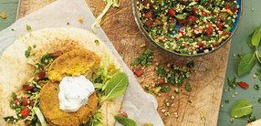 Libanesische Quinoa-Falafel