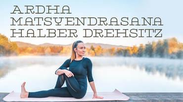 I370 208 yoga asana drehsitz matsyendrasana 1050889070