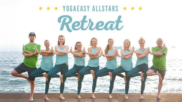 YogaEasy Allstars Retreat 2018