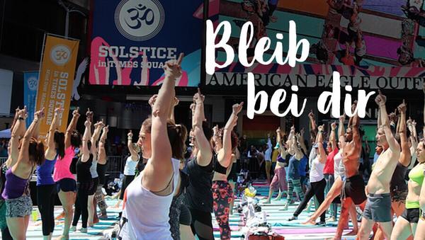 Yoga ist kein Wettbewerb: Hör auf zu vergleichen