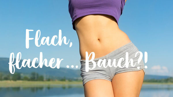 Kugelbauch adé: Yoga für einen flachen Bauch