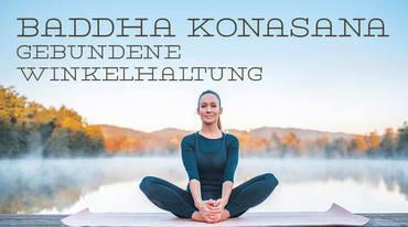 I370 208 yoga asana baddha konasana 1050888884