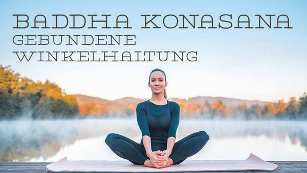 Asana des Monats: Baddha Konasana