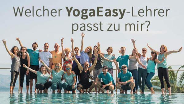 Test: Welcher YogaEasy-Lehrer passt zu dir?