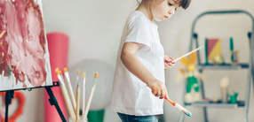 Meditative Beschäftigungen für Kinder zu Hause
