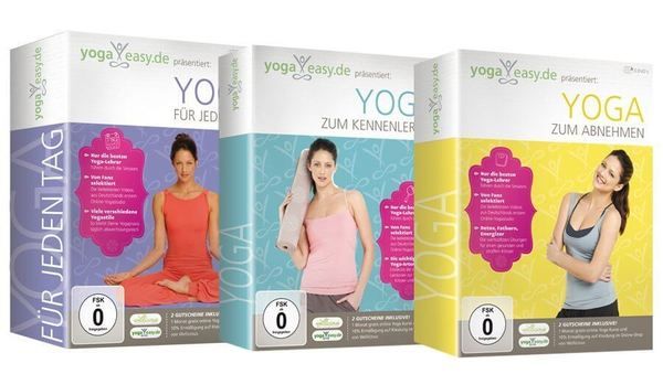 YogaEasy.de - jetzt auch auf DVD!