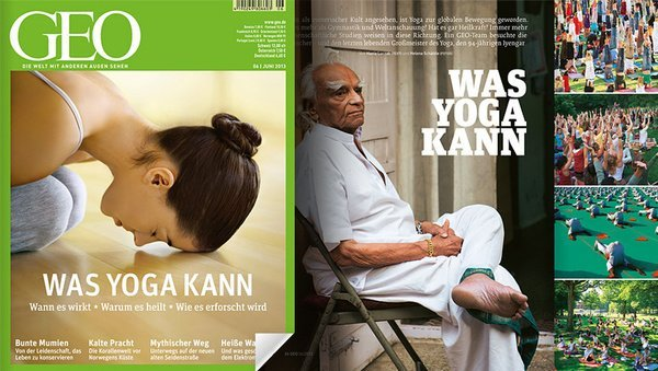"""Was Yoga kann"" (GEO-Magazin, Juni 2013)"
