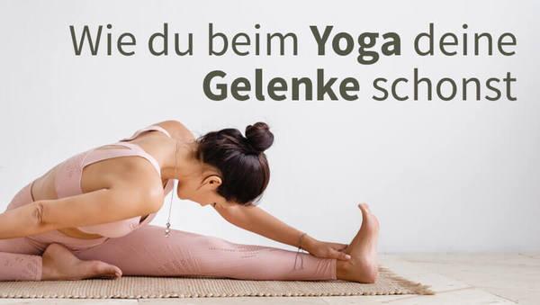 yoga gelenke schonen