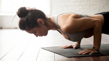 Medium unterarme schultern yoga kraft artikel 608229827