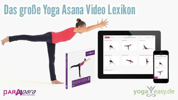 Das Asana Video Lexikon: online, als App und DVD