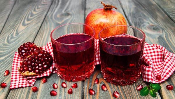 Granatapfelsaft oder Champagner:  Wir entscheiden