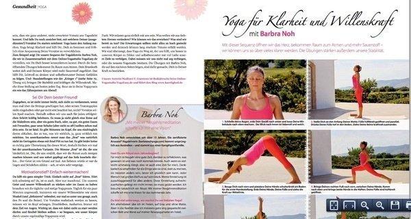 Mit Yoga voller Klarheit das neue Jahr beginnen