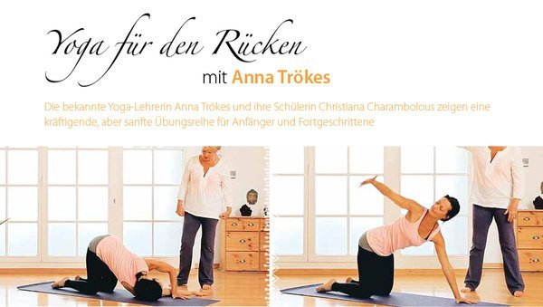 Large yoga ruecken happyway
