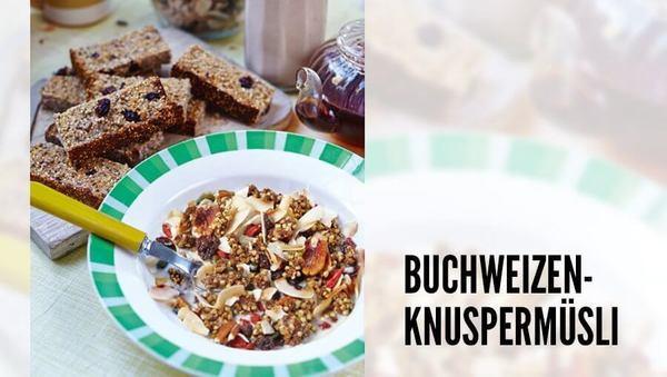 Rezept von Hemsley+Hemsley: Zimt-Buchweizenknuspermüsli