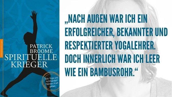 """Patrick Broome über """"Spirituelle Krieger"""""""