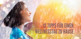 12 Tipps für einen Wellness-Tag zuhause