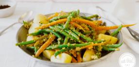 Bohnensalat auf Persische Art