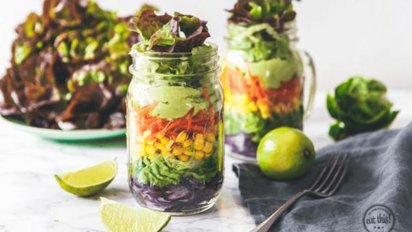 Rezept: Salat zum Mitnehmen